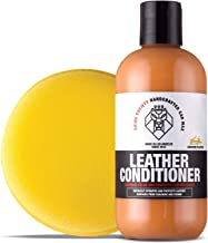 Shine Society Leather Cream Restorer and Conditioner with Foam Applicator Pad (8 oz)
