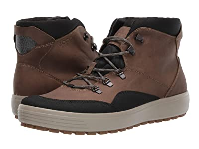 ECCO Sport Soft 7 Tred Terrain GORE-TEX(r) Mid (Black/Navajo Brown) Men
