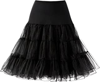 Women 50s Petticoat Skirts Rockabilly Retro Underskirt Crinoline Tutu Dress