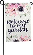 Garden Flag - Welcome to My Garden Double Sided Decorative Flags for Outdoors - Weather Tested and Fade Resistant USA Designed - Best for Party Yard and Home Outdoor Decor - 12x18 inches