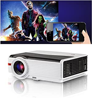 Multimedia LED Video Projector Home Cinema Theater 4200 Lumens HDMI USB AV VGA Digital Widescreen Presentation 1080P HD LC...