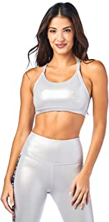 Zumba Women's High Impact Workout Support Print Sports Bra