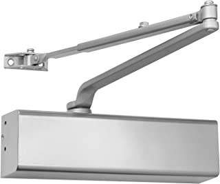 Heavy Duty Grade 1 Cast Aluminum Commercial Door Closer, for high-Traffic entrances/doorways/Aluminum storefronts (1, Aluminum (AL)), by Lawrence Hardware LH816