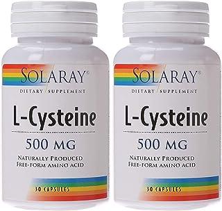 Free-Form L-Cysteine 500mg Solaray 30 Caps