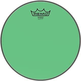 Remo Emperor Colortone Green Drumhead ,10