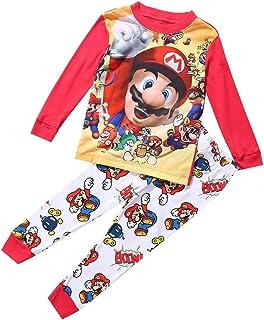 Disfraz de Super Mario para niños de 1 a 7 años