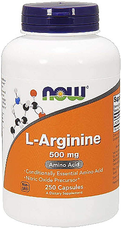 Now Foods L-Arginine 500 250 Ranking TOP5 sale mg Caps