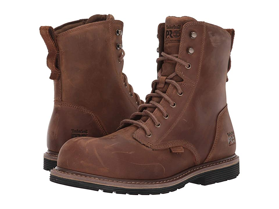 Timberland PRO Millworks 8 Composite Safety Toe Waterproof (Brown Gaucho) Men