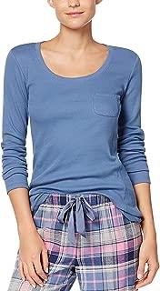 Ribbed Pajama Top Women's Blue