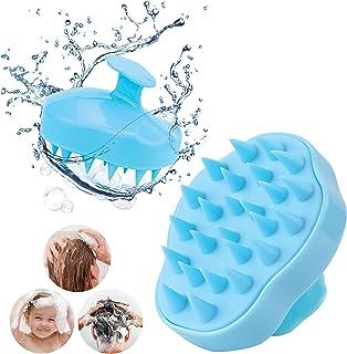 Hair Washing Shampoo Brush, Hair Scalp Massager Brush, exfoliating & clear Dandruff, Hair Growth stimulator, Soft Silicone...