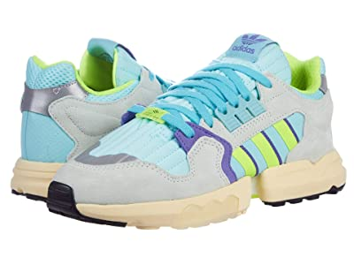 adidas Originals ZX Torsion (Clear Aqua/Solar Yellow/Purple) Men