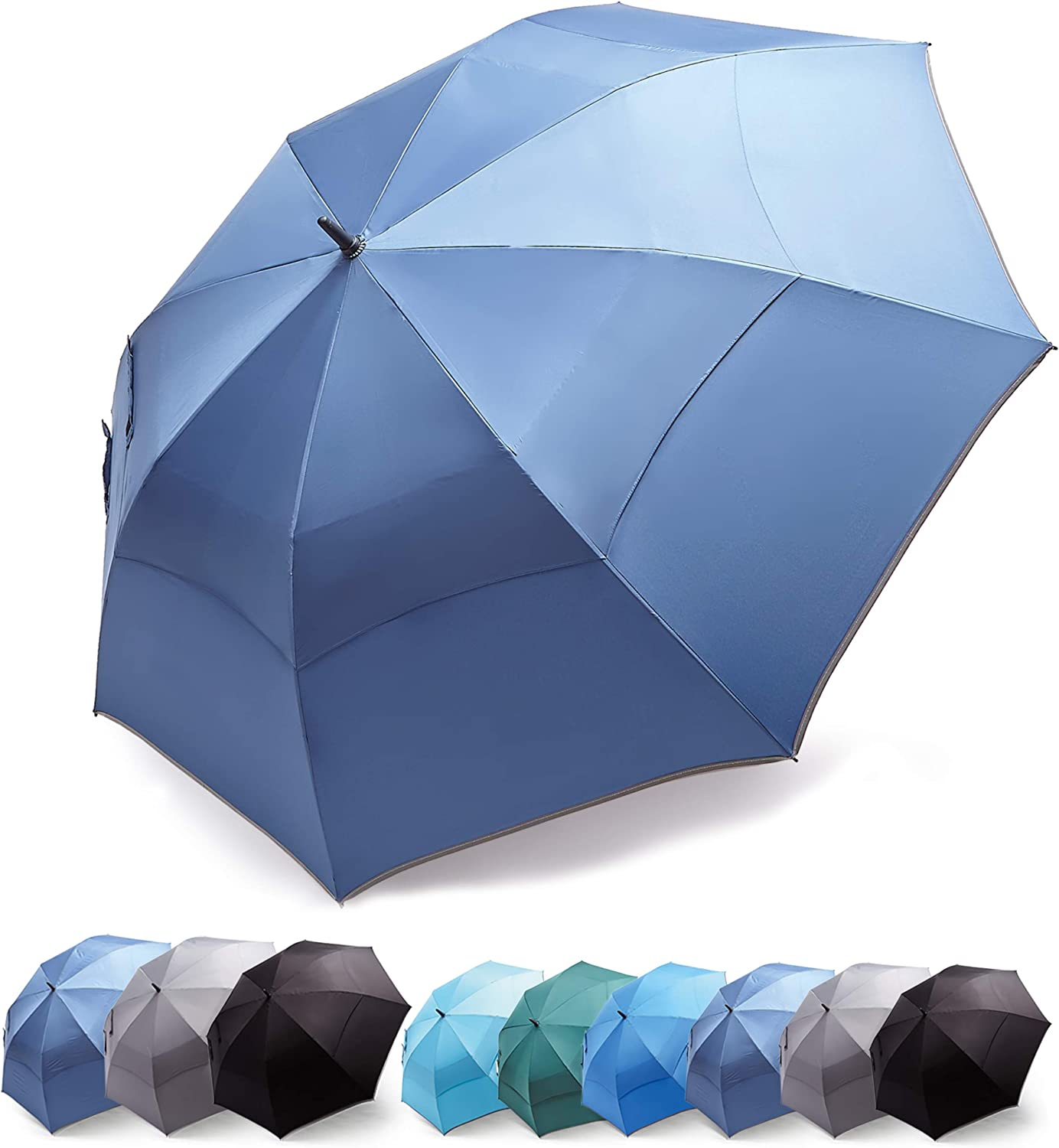 HOSA 54 68 Inch Automatic Open Baltimore Mall Large Hea Oversize Our shop OFFers the best service Umbrella Golf