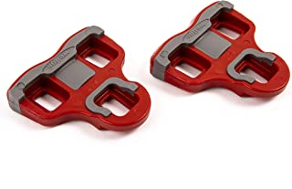 VeloChampion Look Keo Grip Pedal Cleats 6 Degree Float Red