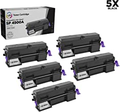 LD Compatible Toner Cartridge Replacement for Ricoh 407319 High Yield (Black, 5-Pack)