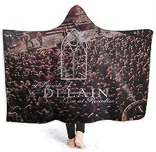 KarlMRush Delain A Decade of Delain Blanket,Sofa Blanket,Super Soft,Suitable for All Seasons,Hooded Blanket