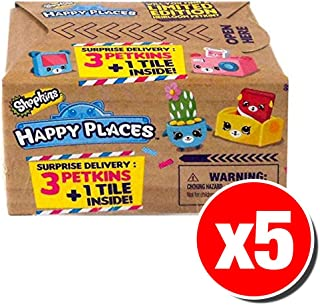 Shopkins Happy Places Surprise Delivery Blind Box (5 Packs Supplied)
