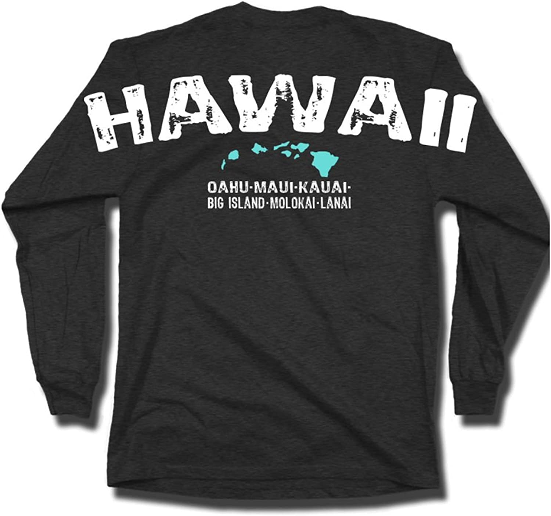 Max 65% OFF Rachel Jordan RJ Unisex Hawaii T-Shirt SALENEW very popular Island Sleeve Chain Long