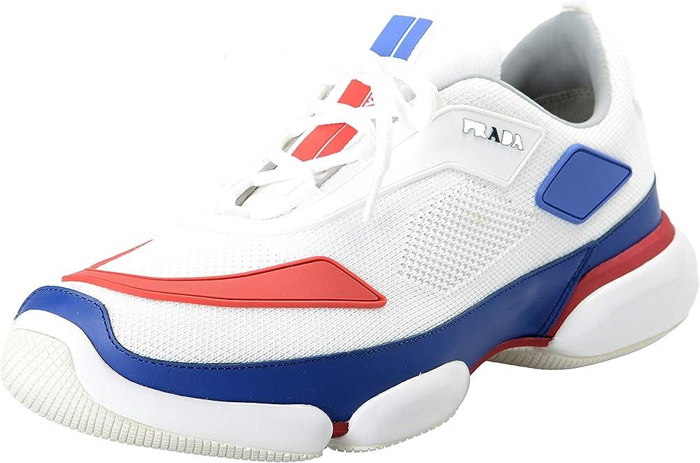 Prada,scarpe da ginnastica,sneakers per uomo,in tessuto e pelle 2EG253