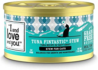 """I and love and you"" Naked Essentials Canned Wet Cat Food – Grain Free,.."
