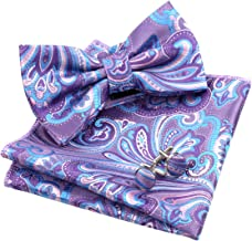 Best lilac bow tie and pocket square Reviews
