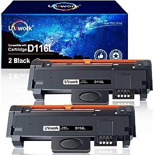 2 Negro Uniwork D116L Cartuchos de tóner Reemplazo para Samsung MLT-D116L Compatible con Samsung Xpress SL-M2835DW SL-M2825ND SL-M2885FW SL-M2675FN SL-M2875FD SL-M2675F SL-M2625D SL-M2875ND SL-M2875FW
