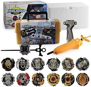MLYWD Beyblades, gyroskop, snabb rotation, kampsnurror/sportsnurra/explosiv snurror, lämplig för barnleksaker och förälde...