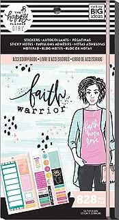 me & my BIG ideas PPSA-06 Happy Planner Accessory Book W/20 Sheets-Faith Warrior, 828/Pkg, Multi