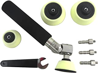 Taytools 204055 Deluxe Rotary Bowl Sander Adjustable Angle with 3 and 2 Inch Hook and Loop Foam Pads