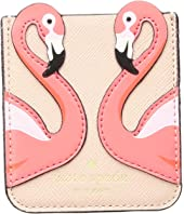 Kate Spade New York - Flamingo Sticker Pocket
