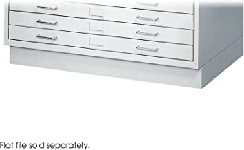 Safco Products Facil Flat File Closed Base for 4969LG Small File, sold separately, Light Gray
