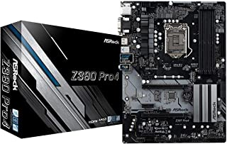 Asrock Z390 Pro4 - Placa de Base (Intel Z390, S 1151, DDR4, SATA III, 2X M.2, Crossfire), Color Negro