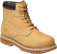 honey nubuck safety boots