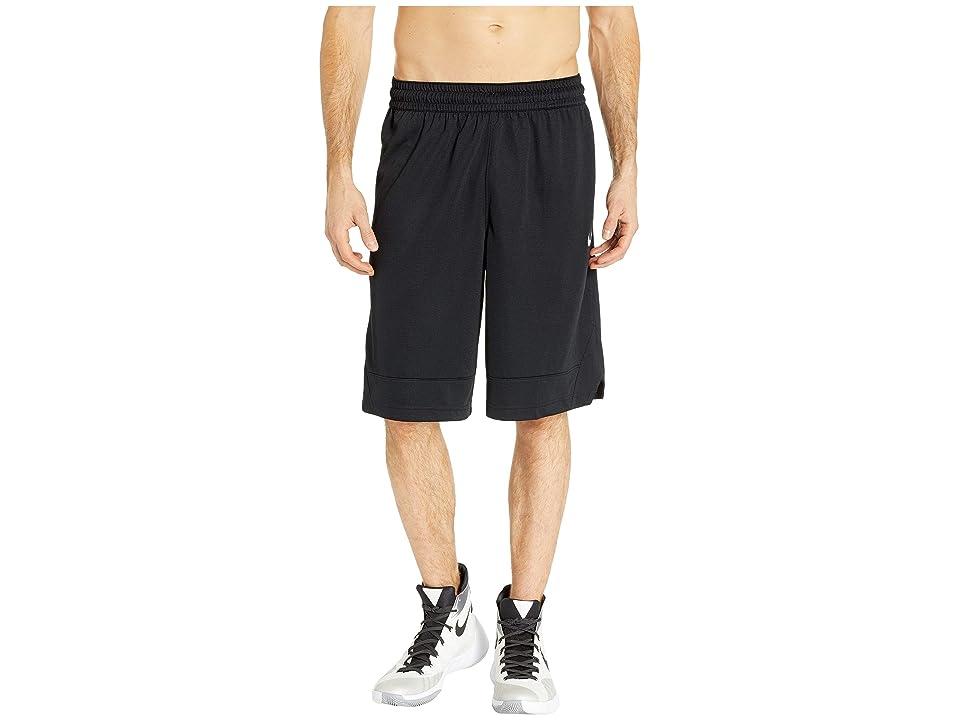 Nike Dry Icon Shorts (Black/Black/White) Men
