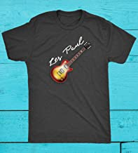 Electric Guitar Gibson T Shirt Les Paul 50s 60s Classic Jazz Blues Country Tribute Music Gift Men's Tri-Blend Premium T-Shirts