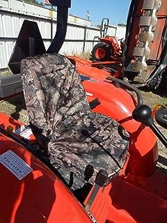 Durafit Seat Covers, KU01 Woodland Endura Kubota Seat Covers for Tractor L2800,L3400,L4300,L44000 in Woodland Endura Camo
