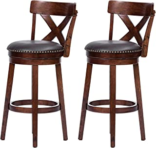 Best 30 in bar stools swivel with back Reviews
