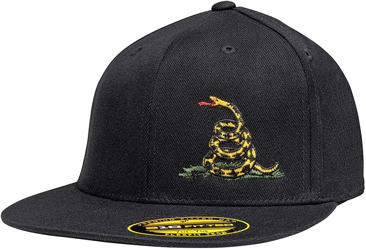 Super Special SALE held Don't Tread On Me Flatbill Branded goods Flexfit Hat Structured High Profile F