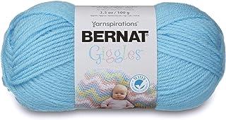 Bernat Giggles Yarn, 3.5 oz, Cheerful Blue, 1 Ball