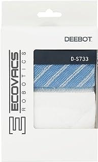 ECOVACS Robotics D-S733 zaawansowane ściereczki do czyszczenia na mokro/sucho do DEEBOT M81/M88/R95/R96/R98 zestaw akcesoriów