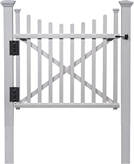 Zippity Outdoor Products ZP19019 Manchester Vinyl Gate