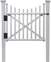 Zippity Outdoor Products ZP19019 Manchester Vinyl Gate, White