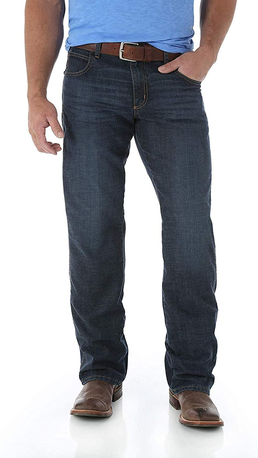 Wrangler Men's Retro Relaxed Fit Cut Max 50% OFF Boot Jean Tampa Mall