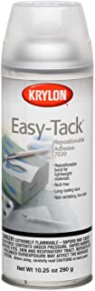 Best Krylon K07020007 10.25-Ounce Easy Tack Repositionable Adhesive Spray Review