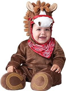 Baoer InCharacter Baby Boy`s Playful Pony, Small Brown