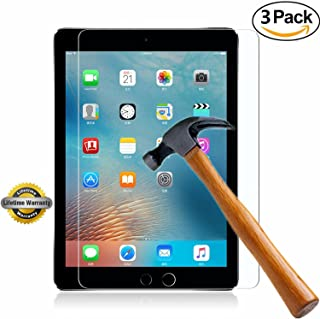 iPad Mini 4 Screen Protector, SOOYO(TM) Premium Tempered Glass Screen Protector (2.5D Round Edge/99% Clarity/Shatter-Proof/Bubble Free) for Apple iPad Mini 4 (7.9 inch])-[3Pack]