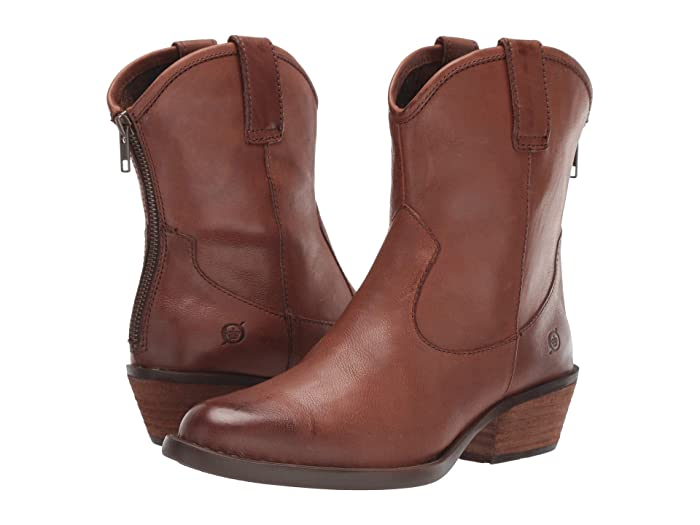 Born  Wynd (Brown Full Grain Leather) Womens  Boots