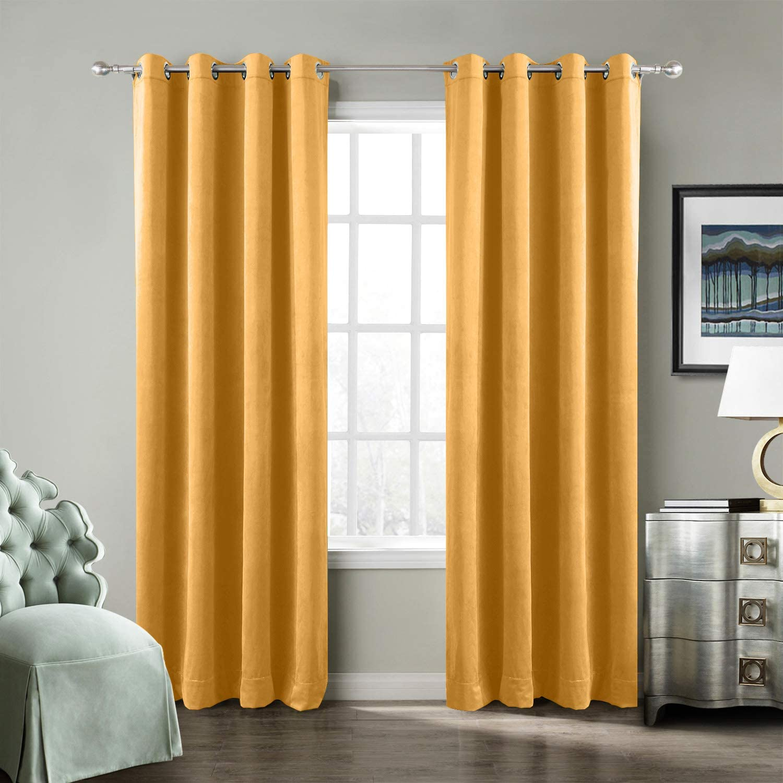 ChadMade Solid Matt Heavy Velvet Super Soft Curtain Panel Drape Popular Some reservation brand
