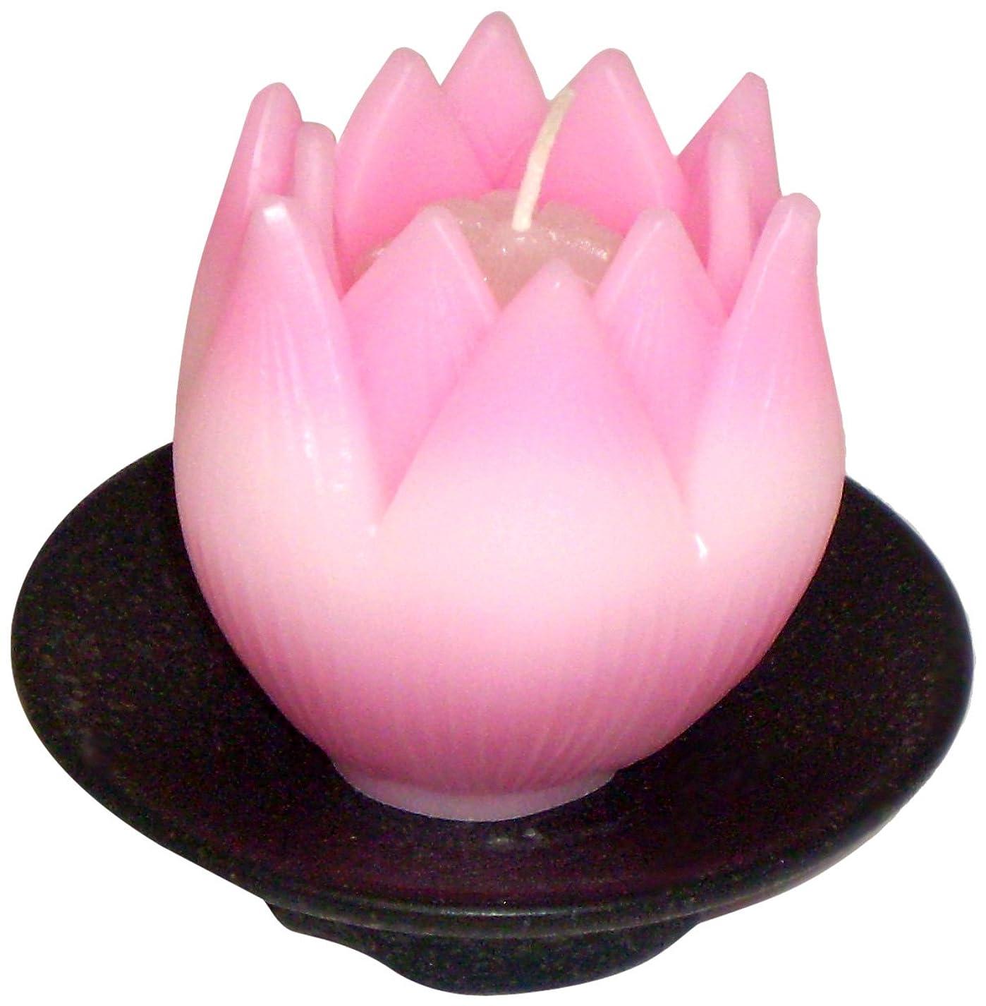 賃金サルベージ議題東海製蝋のろうそく リリィ 器付き ピンク