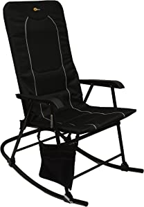 Faulkner 49597 Dakota Rocking Chair, Black