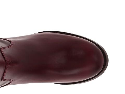 Bouton Prolongé Démarrage Cuir Leatherdark Noir Cru Frye Extendedbordeaux Melissa Brun Doux Calfdark Ufwnaxq